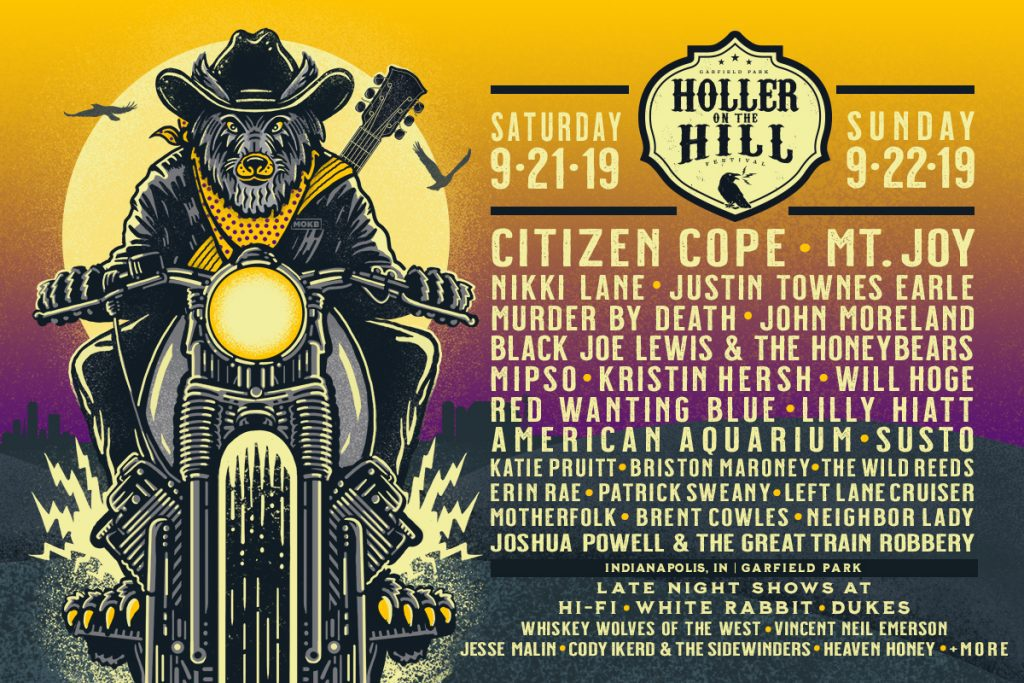 2019 Holler on the Hill Lineup at Garfield Park